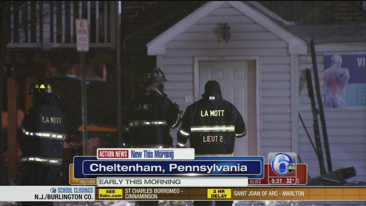 VIDEO: Medical building fire in Cheltenham