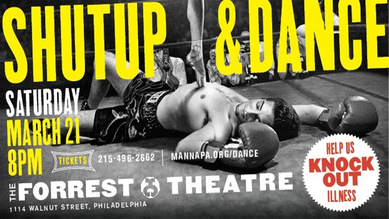 Shut Up and Dance is at 8pm on March 21st at the Forrest Theatre.