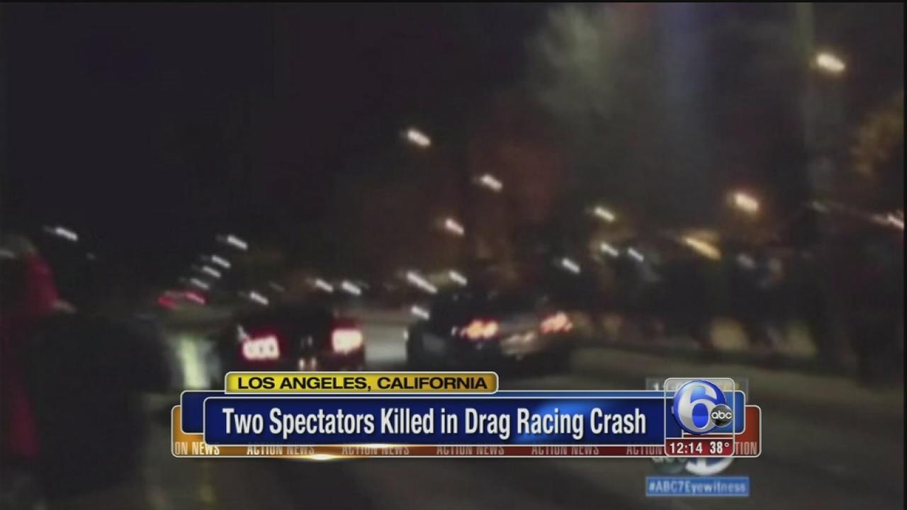 VIDEO: 2 killed in street racing crash