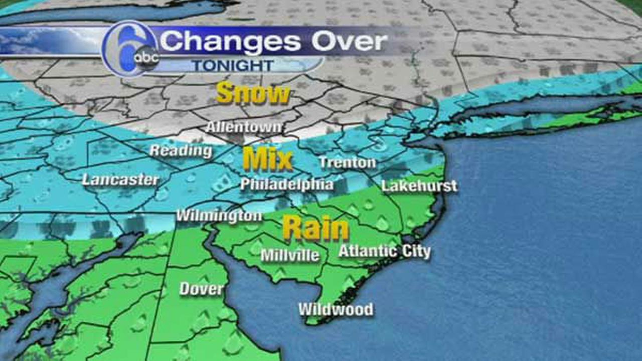 ACCUWEATHER MAPS: Tuesdays Wintry Mix