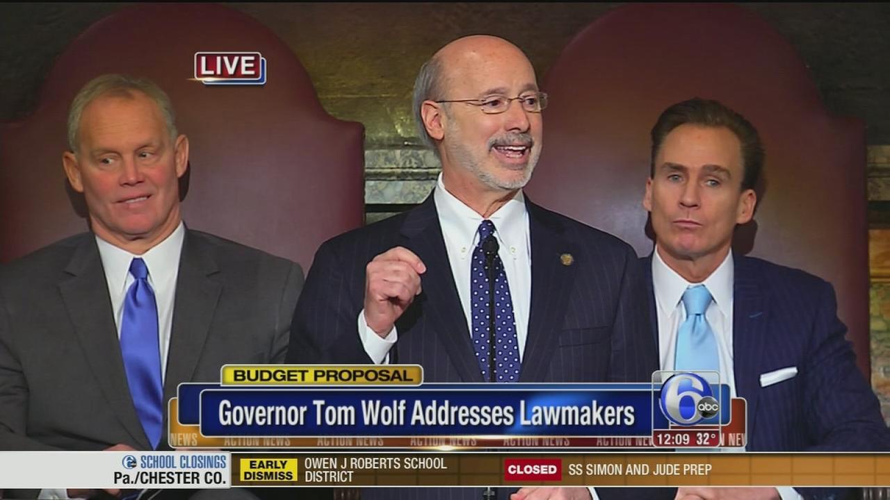 VIDEO: Pa. Gov. delivers budget address