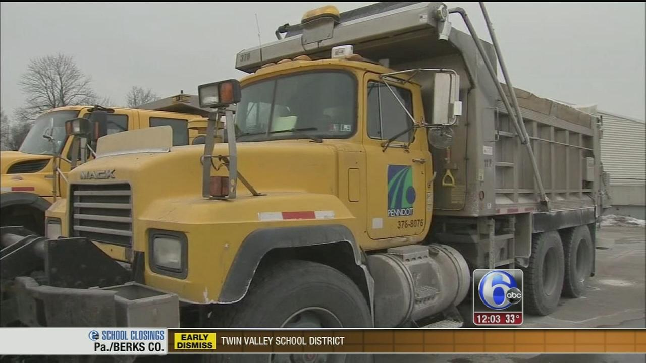 VIDEO: PennDOT ready for the messy winter mix