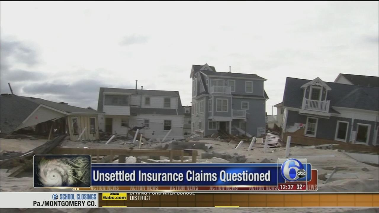 VIDEO: Unsettled Sandy insurance claims questioned
