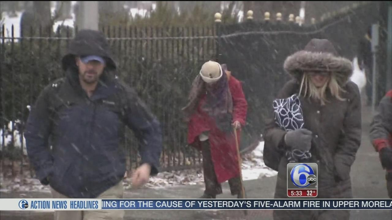 VIDEO: Nora Muchanic reports on conditions in NJ