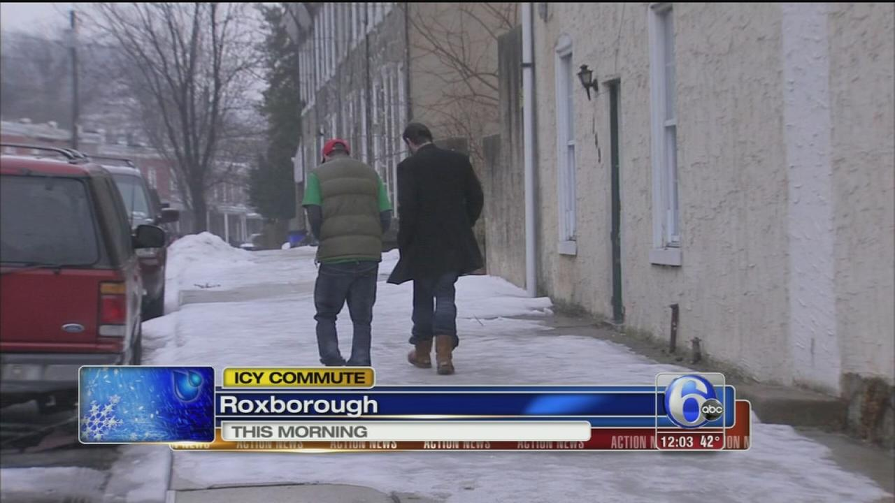 VIDEO: Roxborough ice