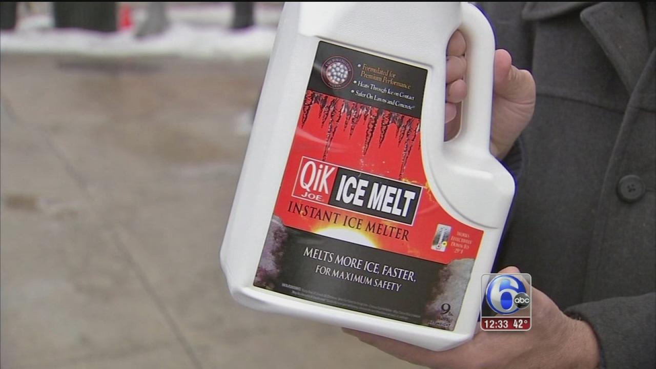 VIDEO: Search for ice melt