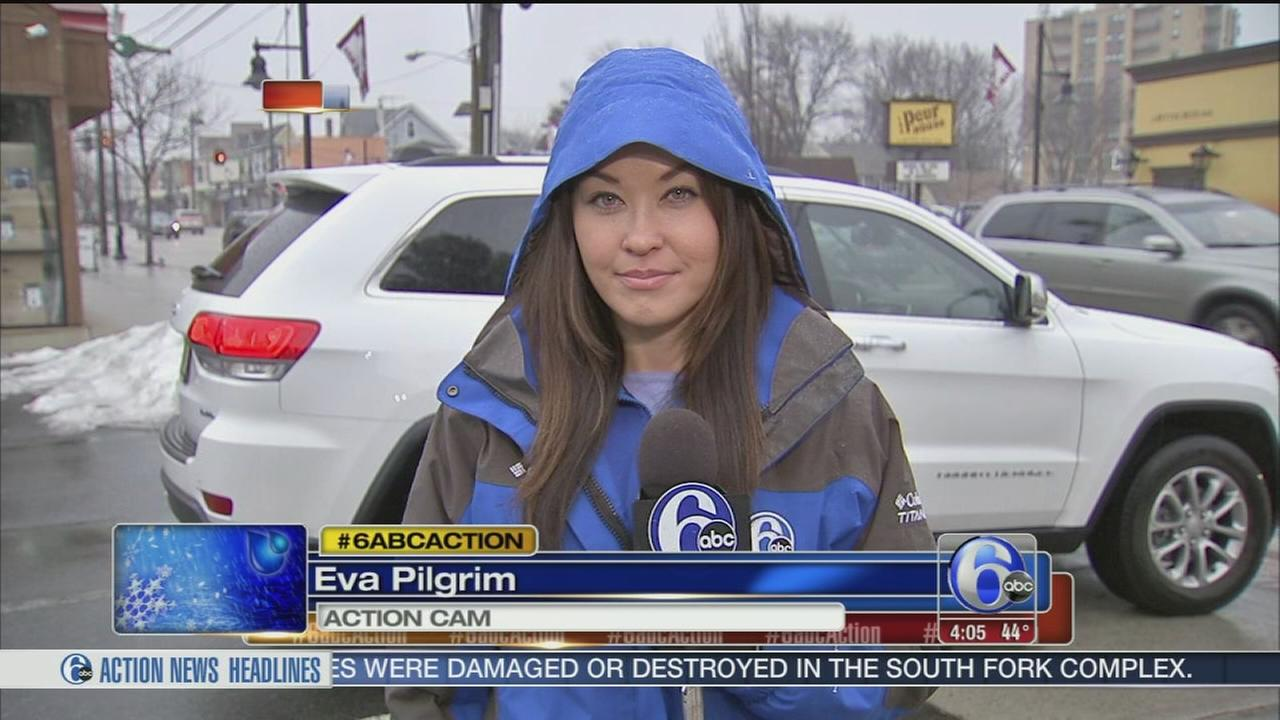 VIDEO: Eva Pilgrim reports on the pursuit for ice melt
