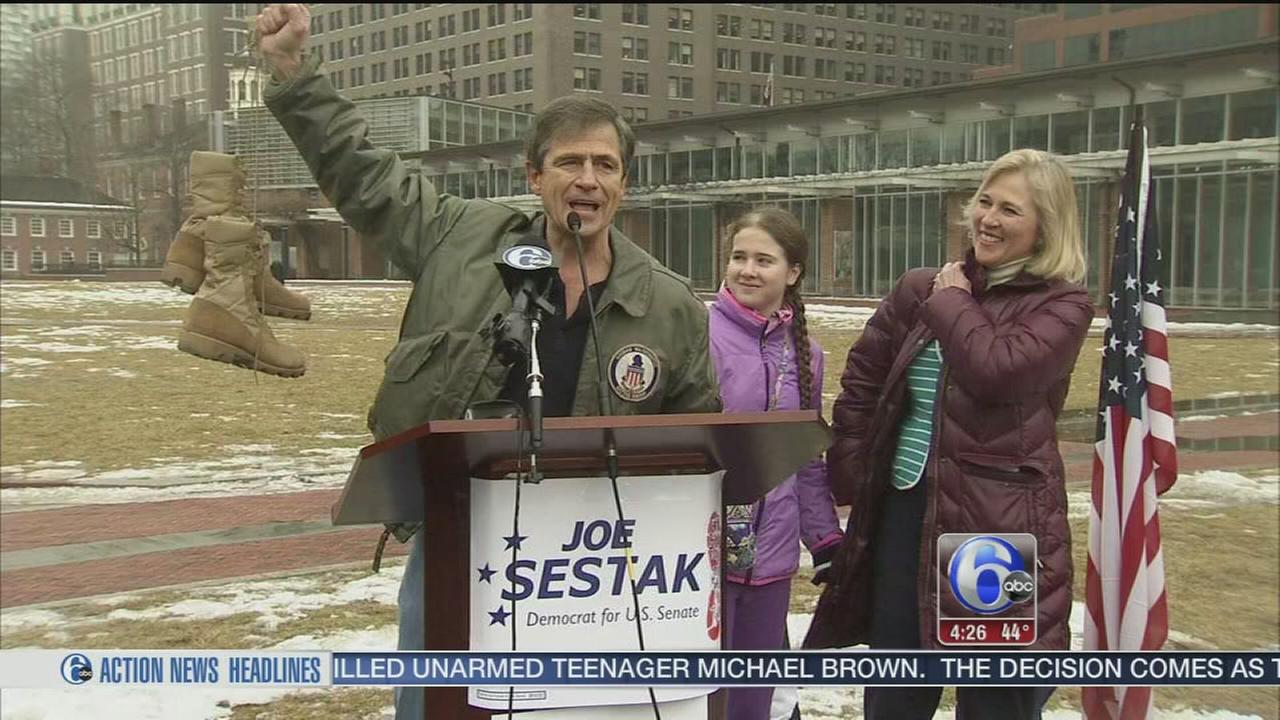 VIDEO: Sestak senate run