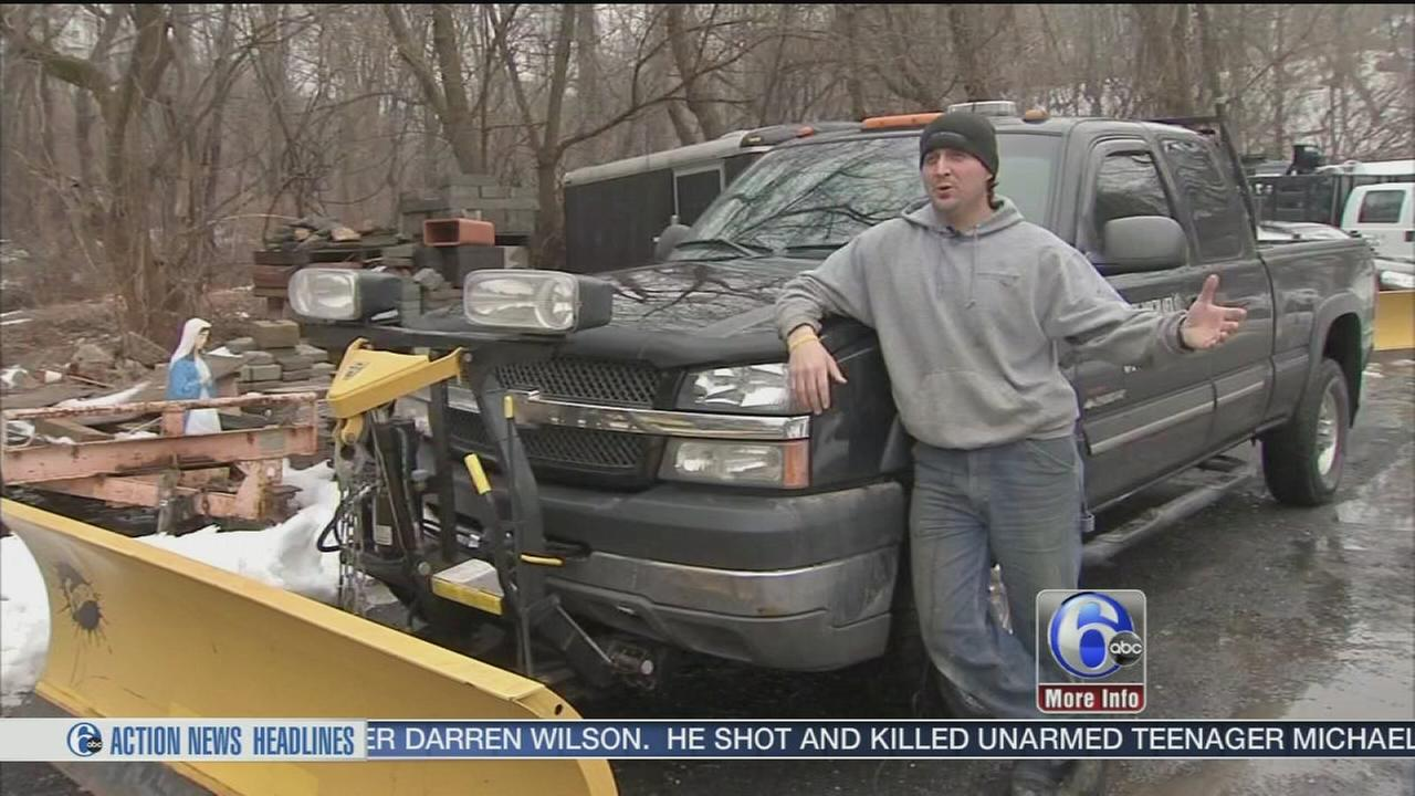 VIDEO: Chad Pradelli gets the plow operator take on coming snow