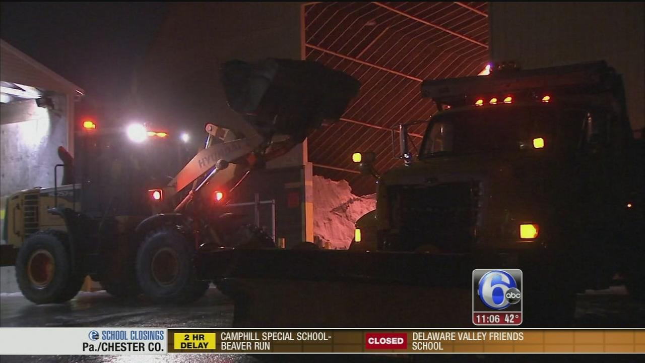 VIDEO: PennDOT prepared for Thursdays storm
