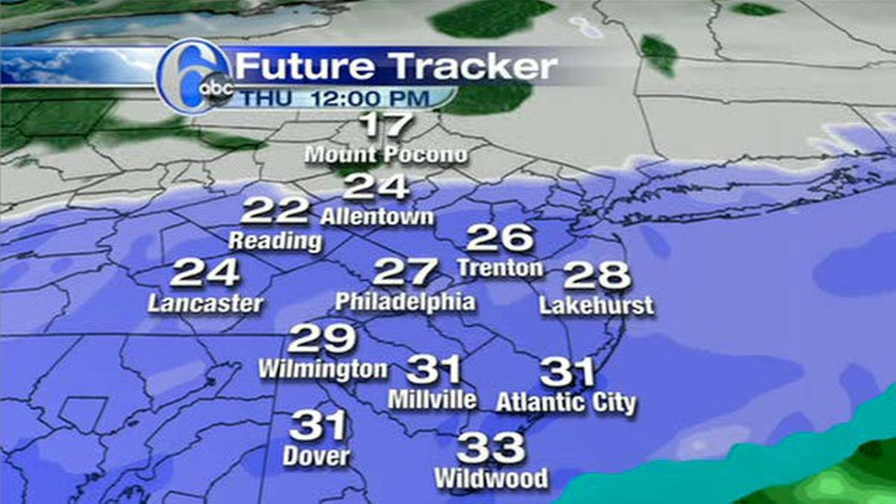 AccuWeather MAPS: Thursdays snowstorm