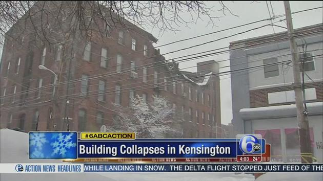 VIDEO: Building collapse in Kensington