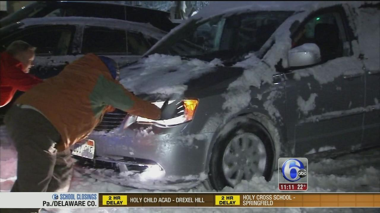 VIDEO: John Rawlins reports on snow aftermath in Wayne
