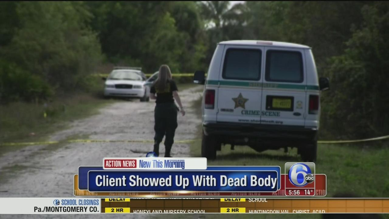 VIDEO: Dead body brought to lawfirm