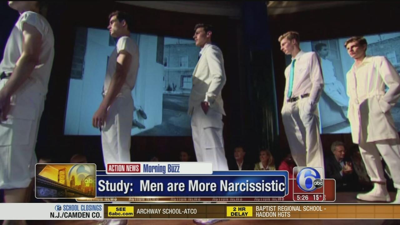 VIDEO: Study says men are more narcissistic