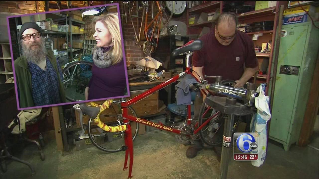 FYI Philly: Custom made bikes