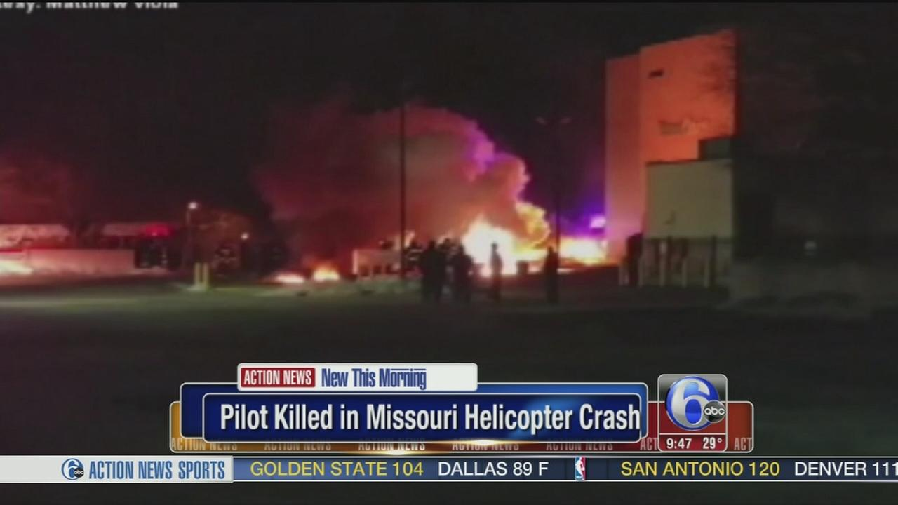 VIDEO: Pilot killed in Missouri helicopter crash