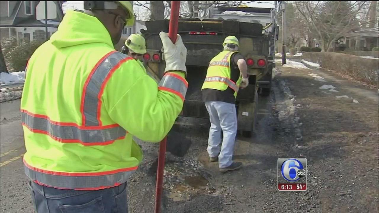 VIDEO: Area roads pocketed with potholes