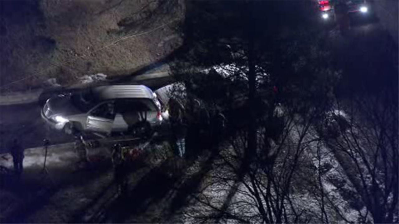 Pedestrian struck, gets pinned under car in Broomall