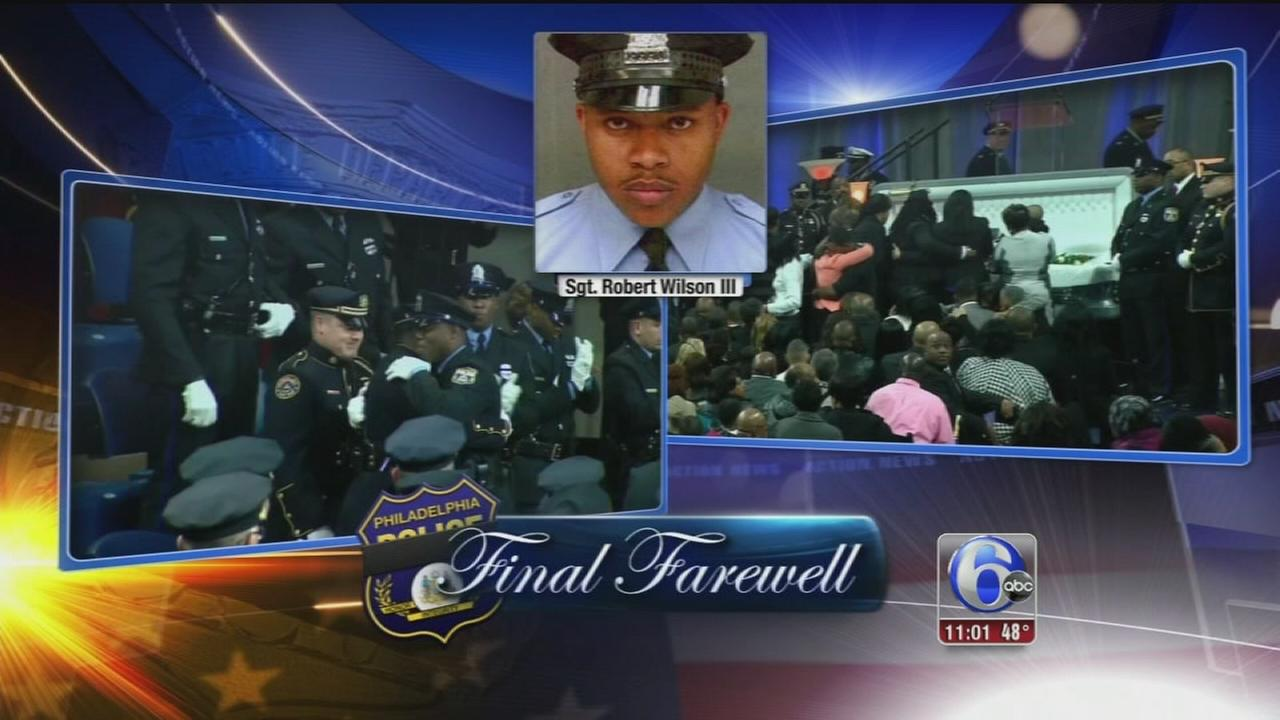 VIDEO: Slain Phila. officer promoted during funeral