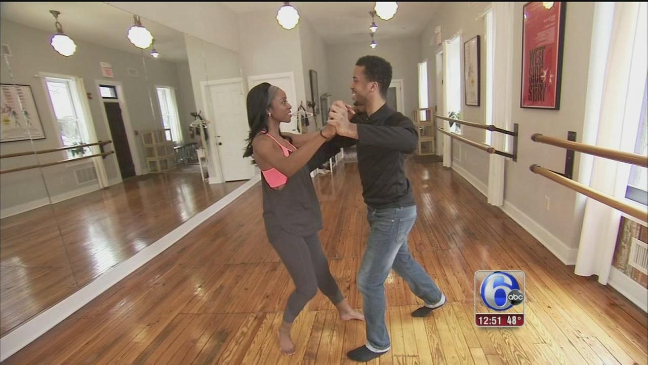 VIDEO: Melissa Magee rehearsing for Dancing for Our Future Stars