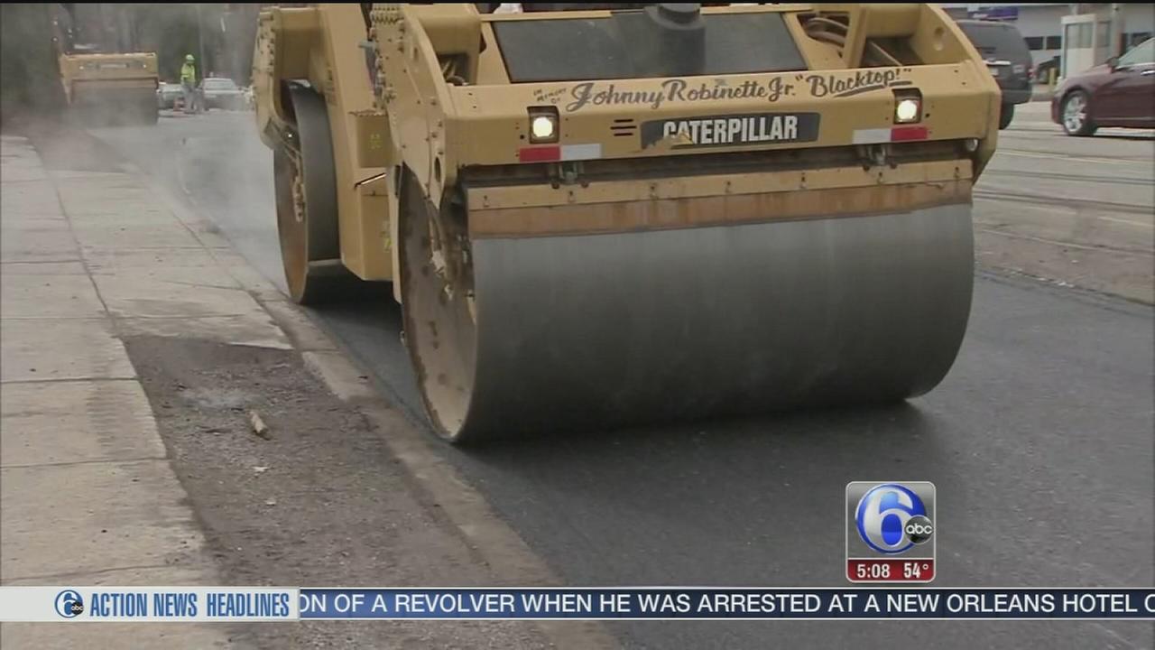 VIDEO: Pothole problems