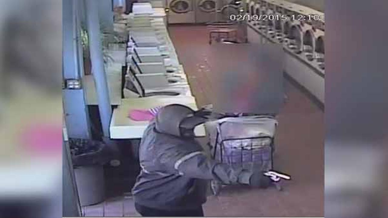 Philadelphia police have released surveillance video of a deadly shooting inside a Southwest Philadelphia laundromat in February.