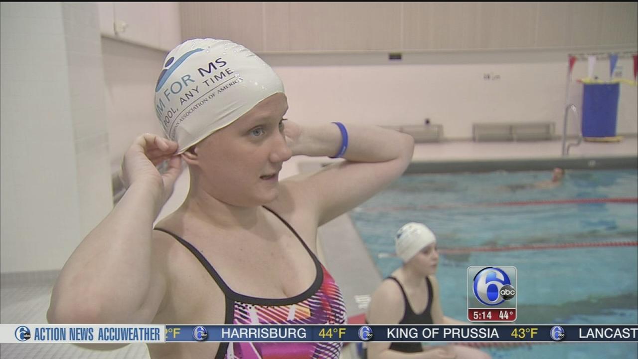 VIDEO: Swim for MS