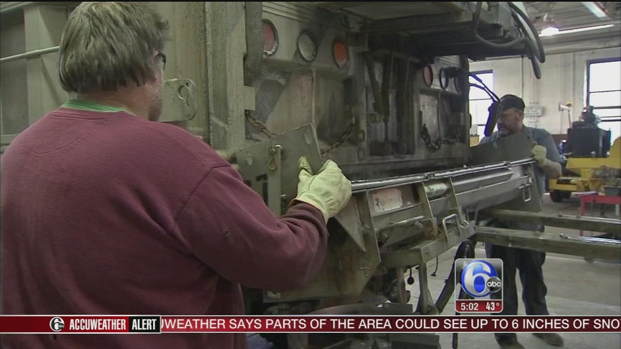 VIDEO: Crews ready for Spring snow