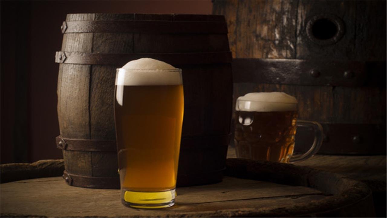 Runaway beer keg no lucky charm for teenager