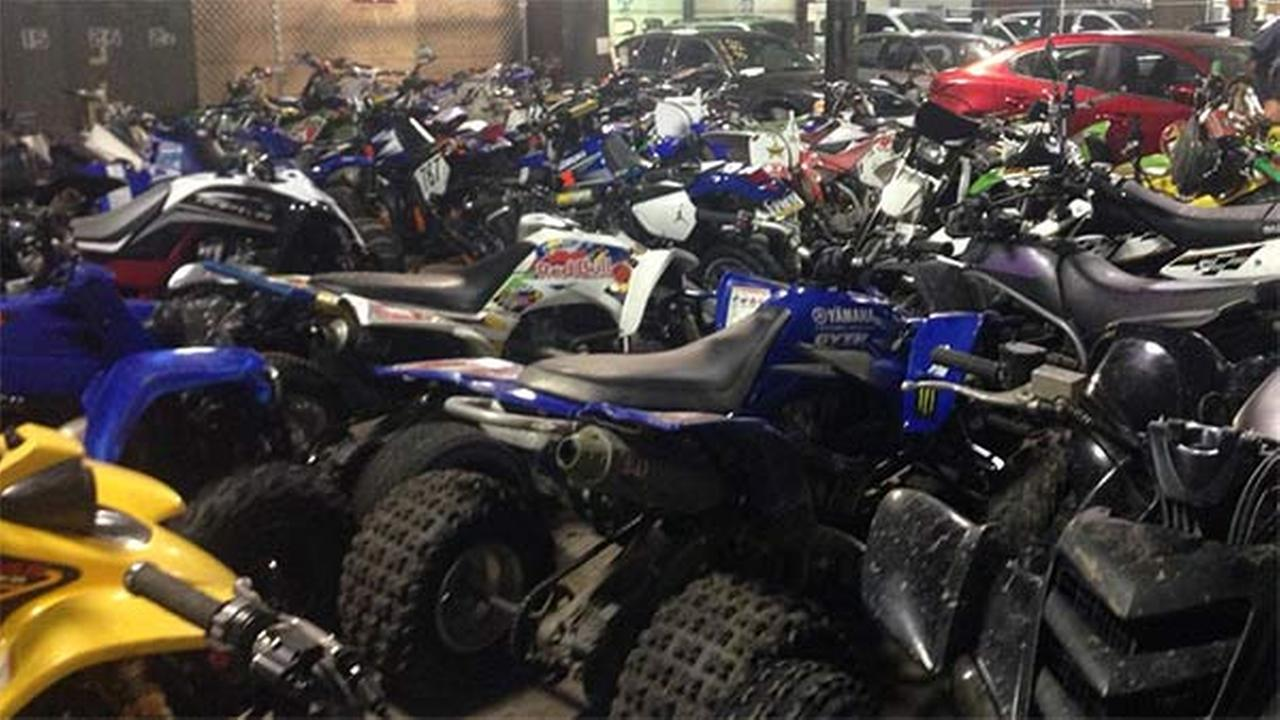 Dozens Of Illegal Dirt Bikes Atvs Seized In Day Long
