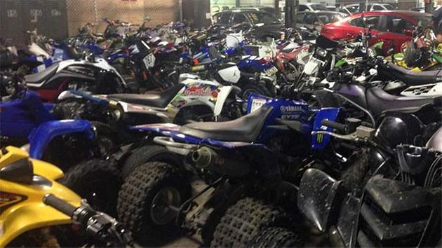 Craigslist Quad Cities Dirt Bikes Dozens of illegal dirt bikes