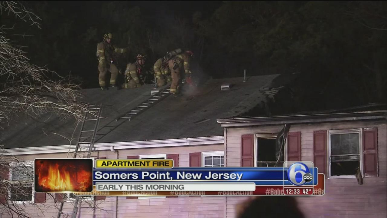VIDEO: NJ fire