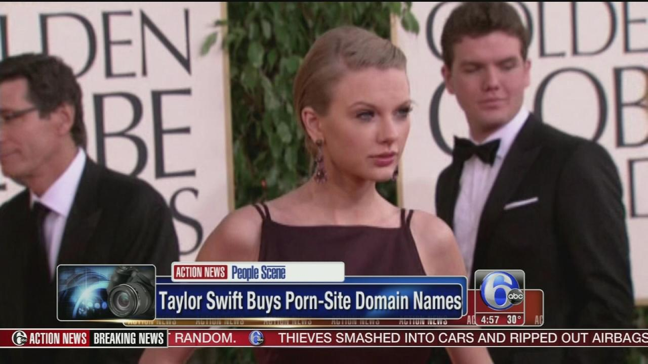 VIDEO: Taylor Swift buys porn-site domain names