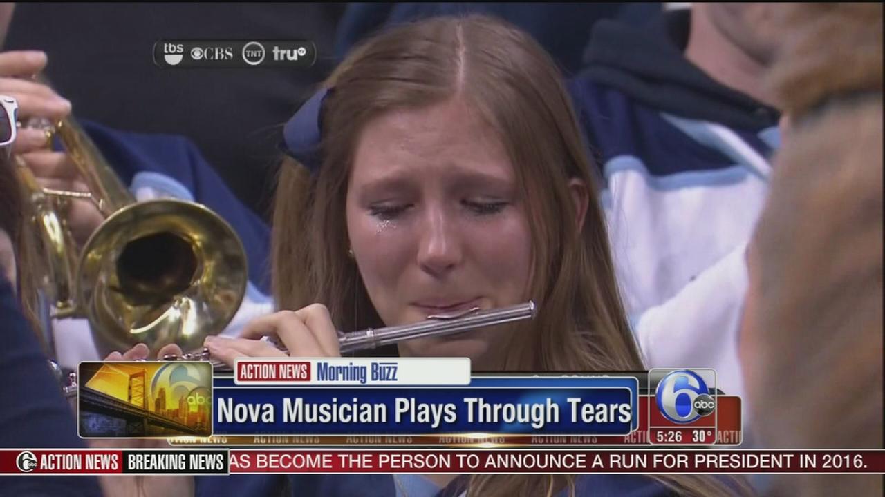 VIDEO: Nova musician plays through tears after loss