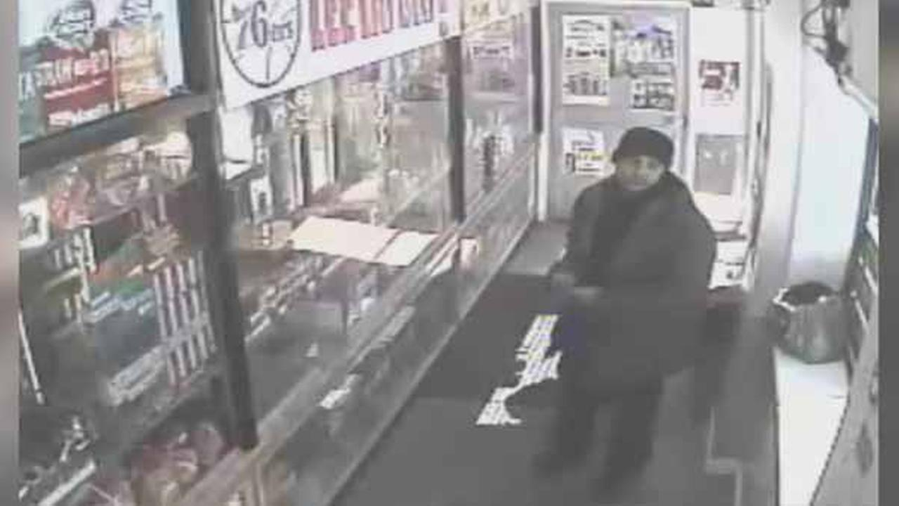 Police are looking for a suspect wanted for theft in South Philadelphia.