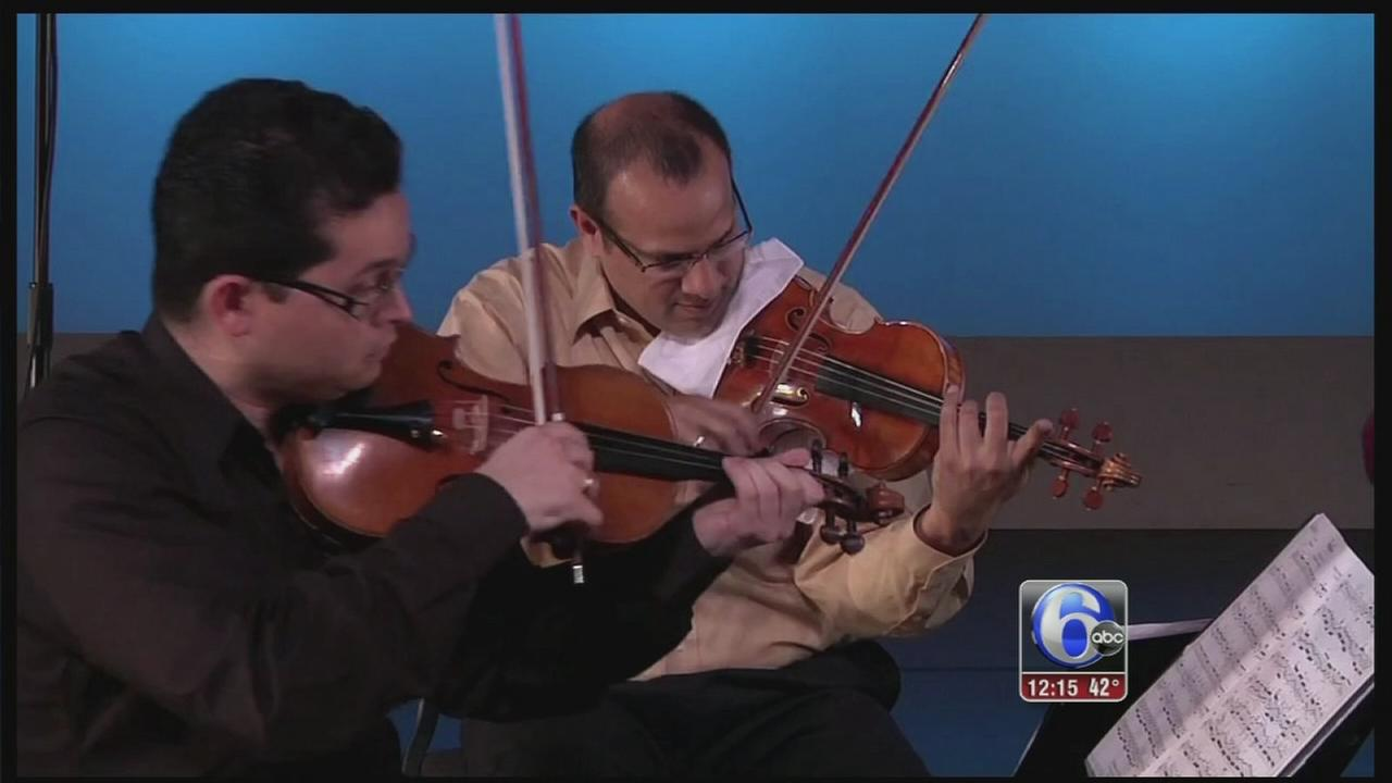 VIDEO: Homecoming for Dali Quartet  - 6abc Loves the Arts