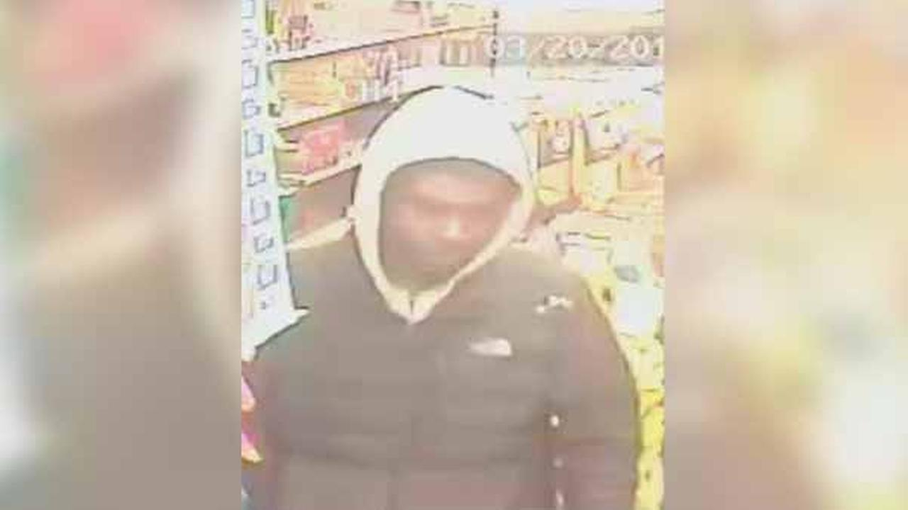 Police are searching for two suspects who robbed a mini market at gunpoint in North Philadelphia.