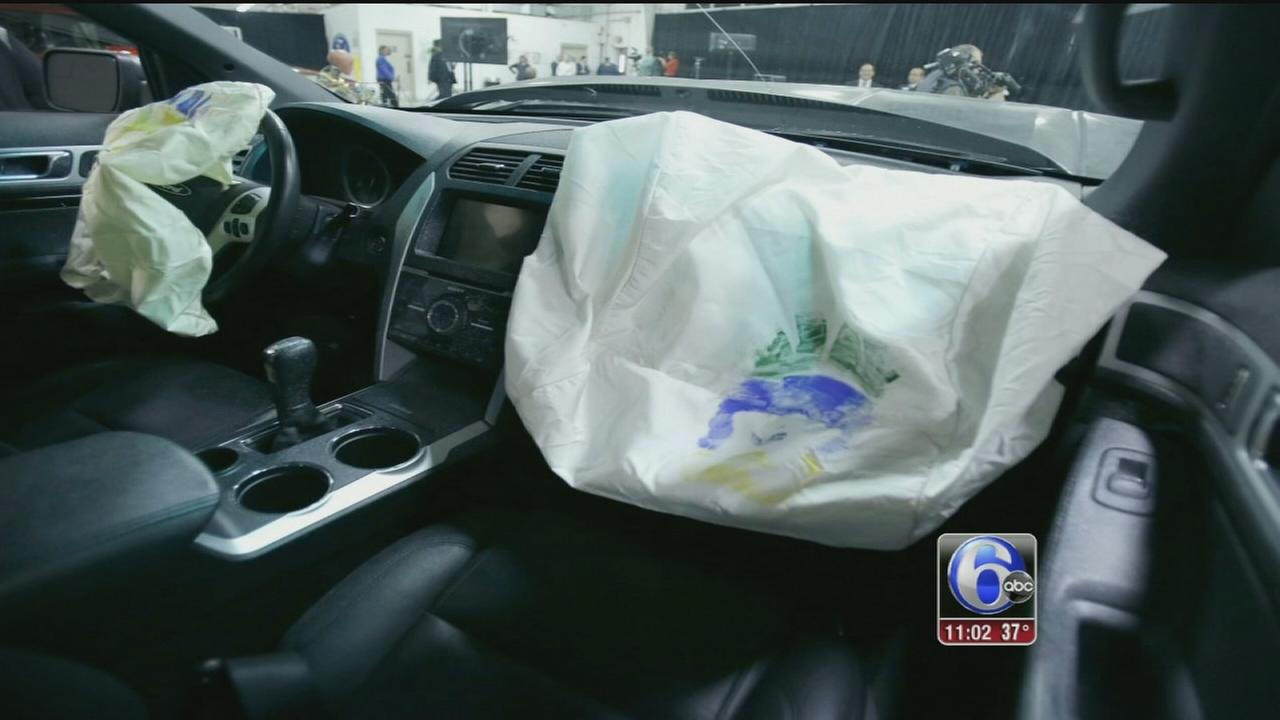 VIDEO: Airbag thefts