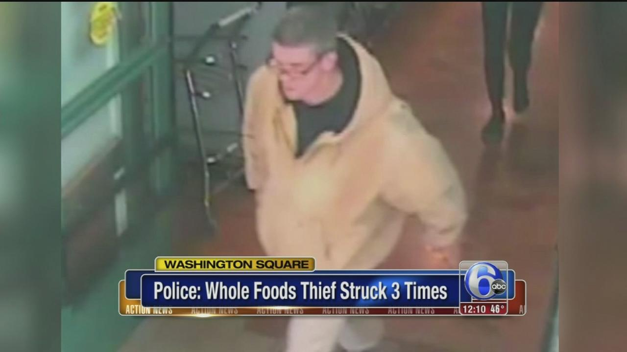 VIDEO: Whole Foods thief steals thousands in meat