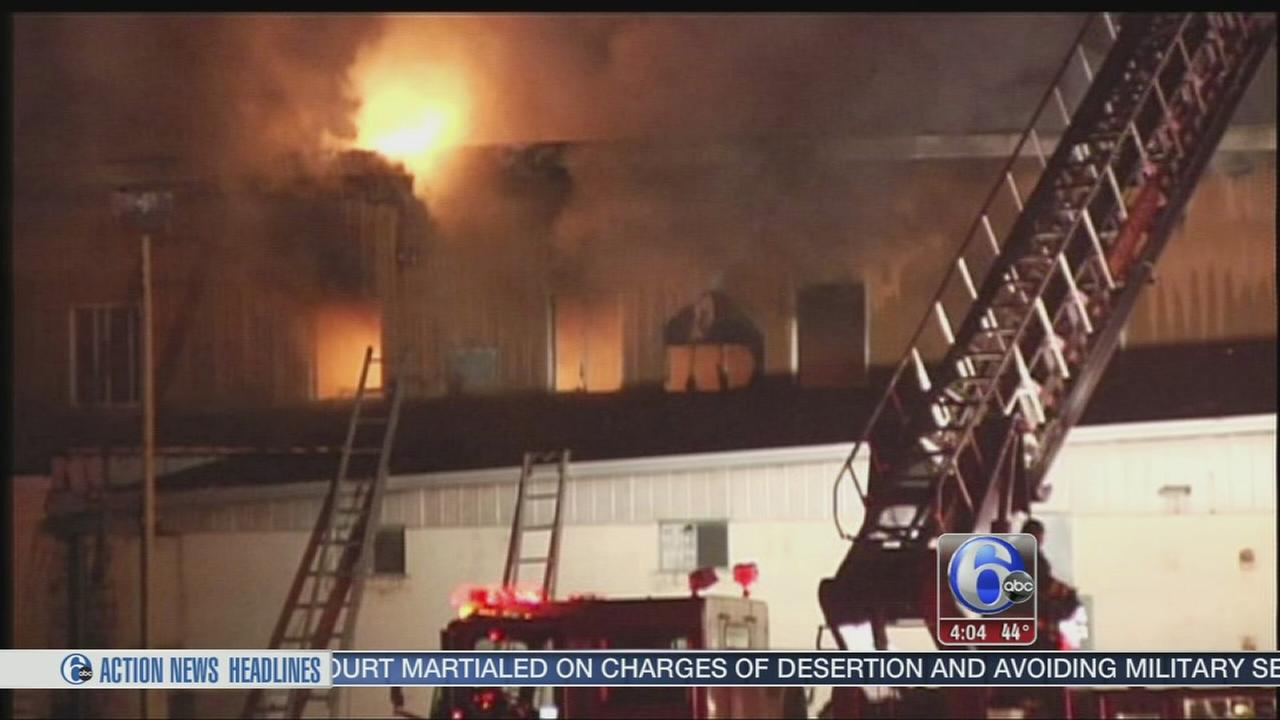 VIDEO: Business burns in Bethlehem