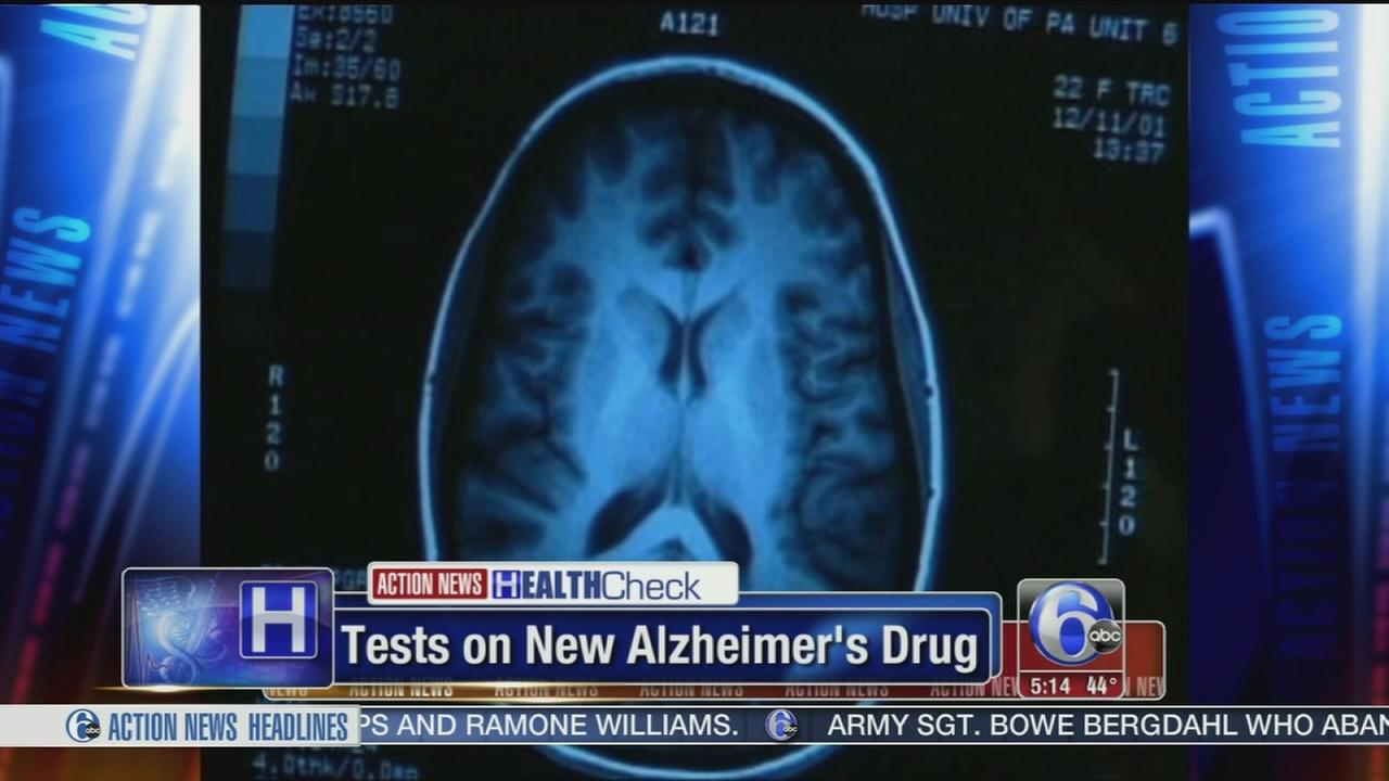 VIDEO: New Alzhiemers medicine being tested in Abington
