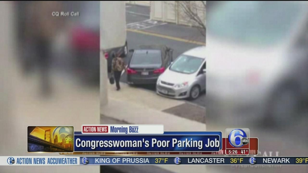 VIDEO: Congresswomans poor parking job