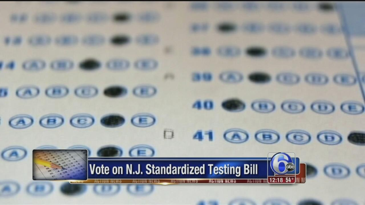 VIDEO: Bill would let NJ parents to opt out of standardized tests