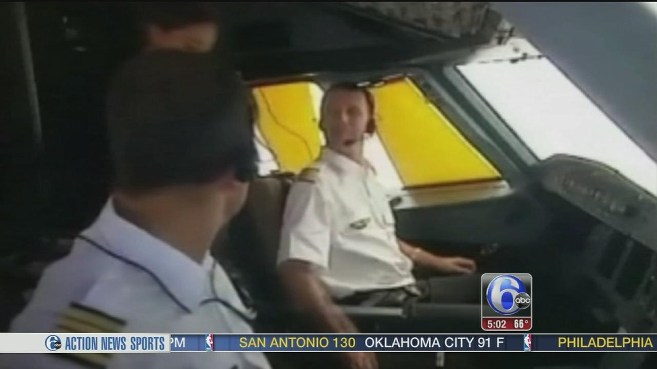 VIDEO: Whats happening in the cockpit?  Questions after crash