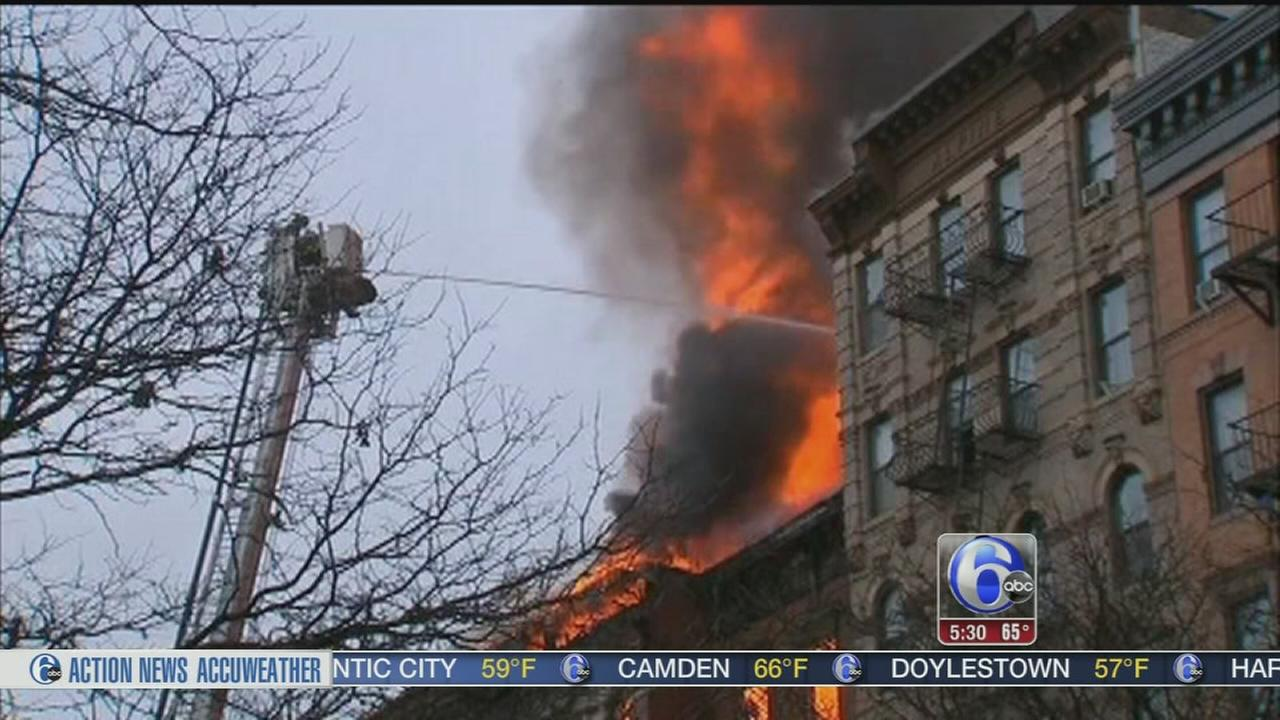 VIDEO: NYC explosion