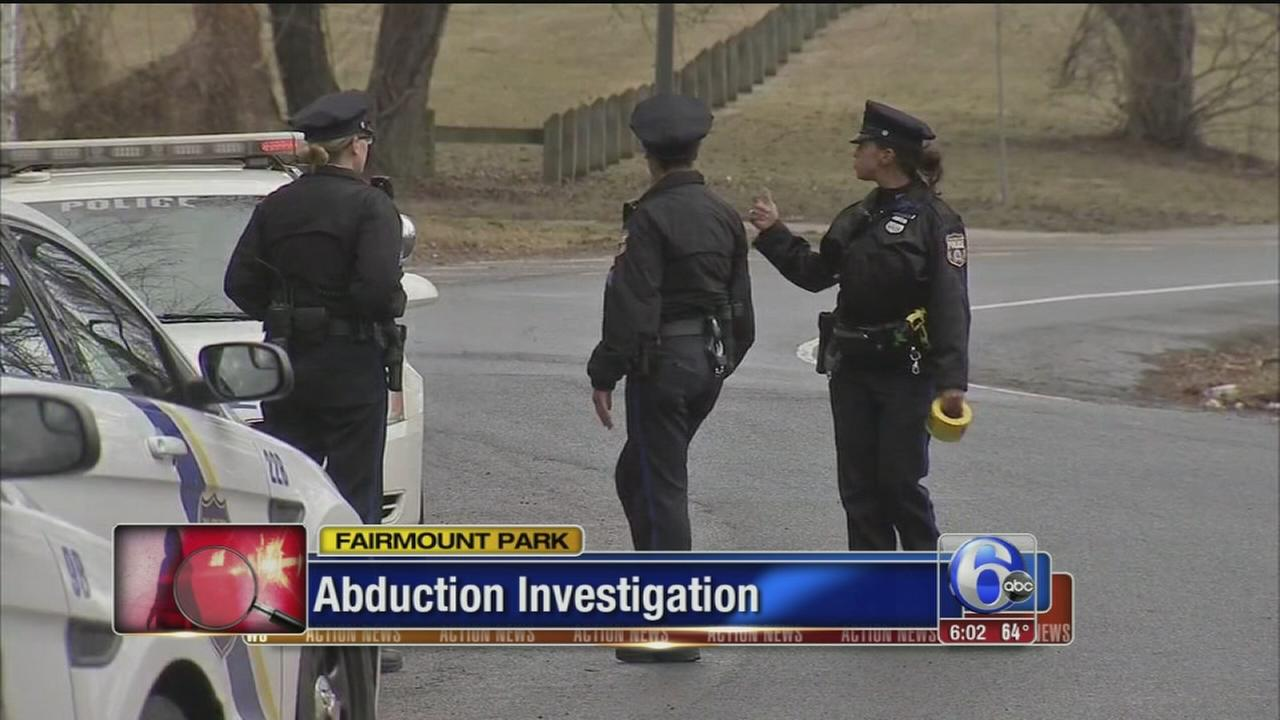 VIDEO: Police investigate apparent abduction in Fairmount Park