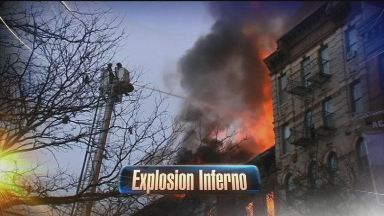 VIDEO: 19 injured in explosion, building collapse in NY