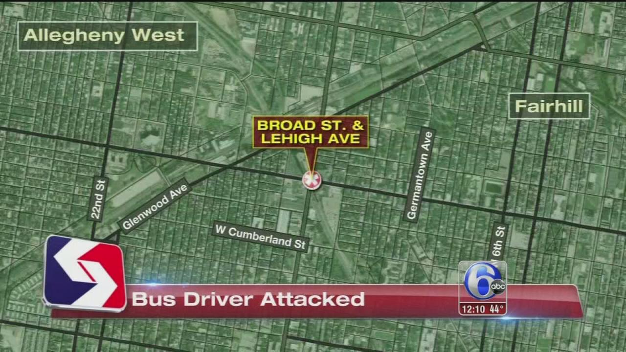 VIDEO: SEPTA bus driver attacked