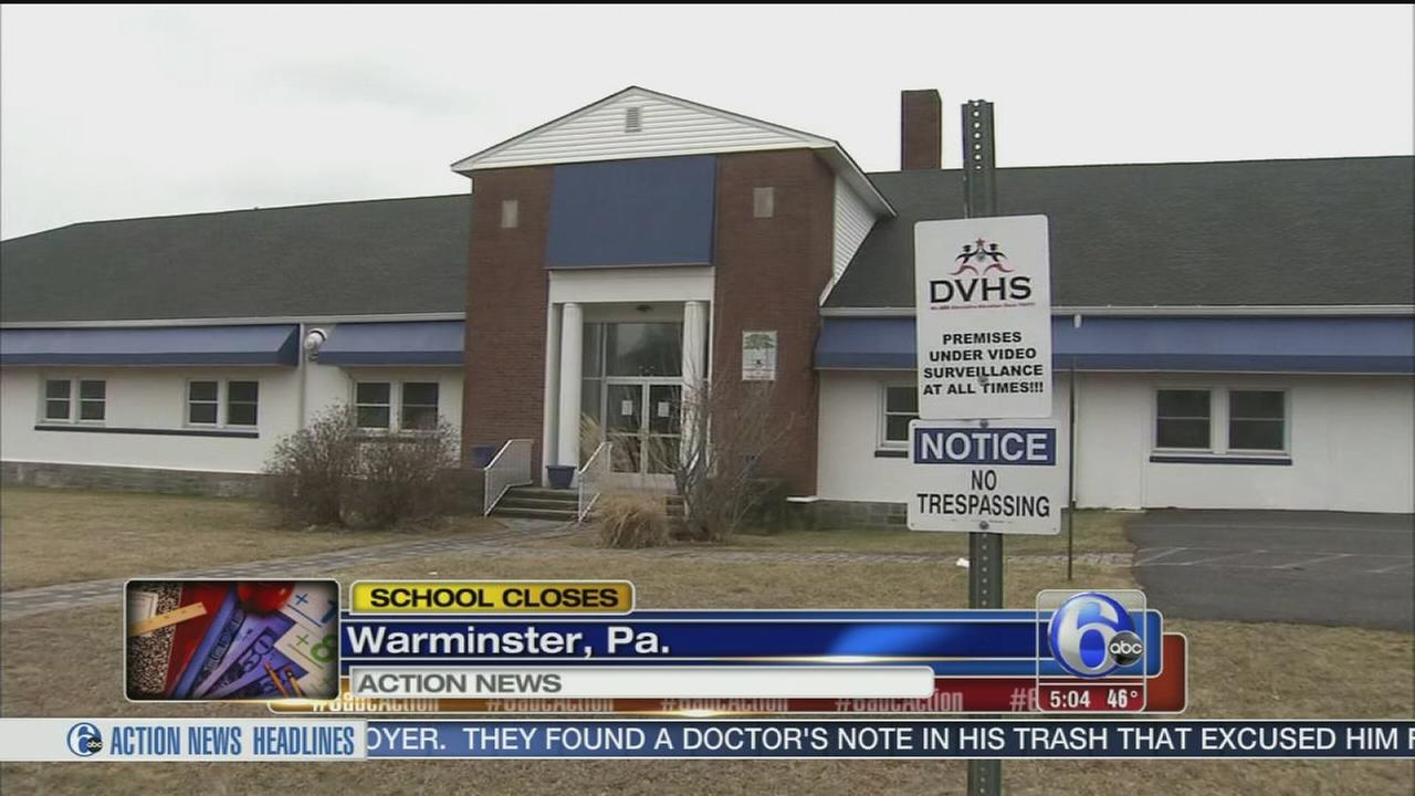 VIDEO: Bucks Co. school closes abruptly
